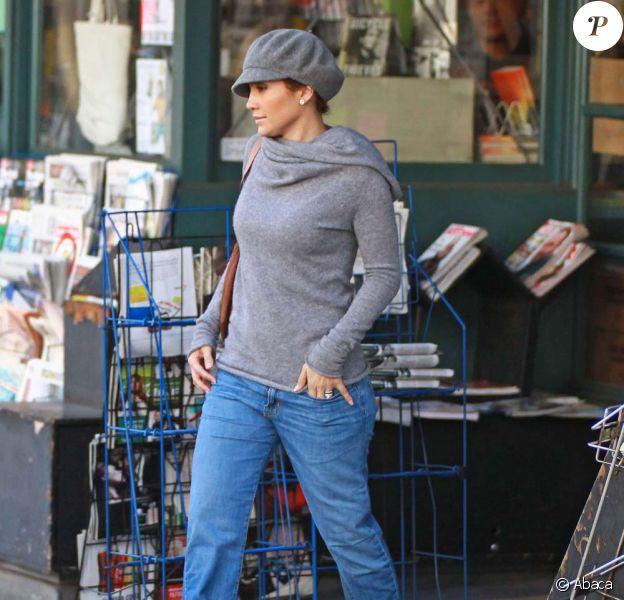 Jennifer Lopez à Los Angeles, le 28 novembre 2009.
