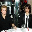 Catherine Deneuve et son petit-fils Igor, enfant de Christian Vadim