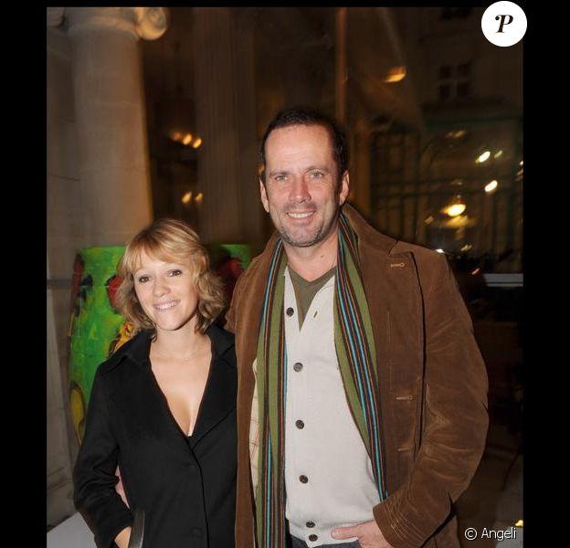 Christian Vadim et sa compagne Julia