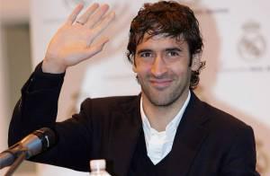 Raul, le charismatique capitaine du Real Madrid... papa pour la cinquième fois !