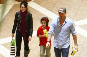 Megan Fox : Avec son chéri Brian et son fils... la bombe est une maman comme les autres !
