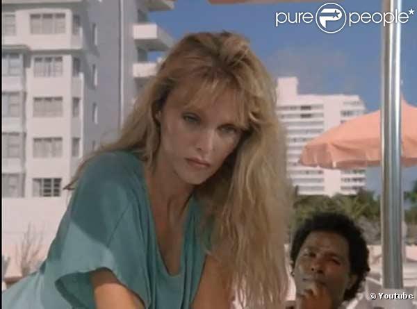 Arielle Dombasle, dans la série Miami Vice