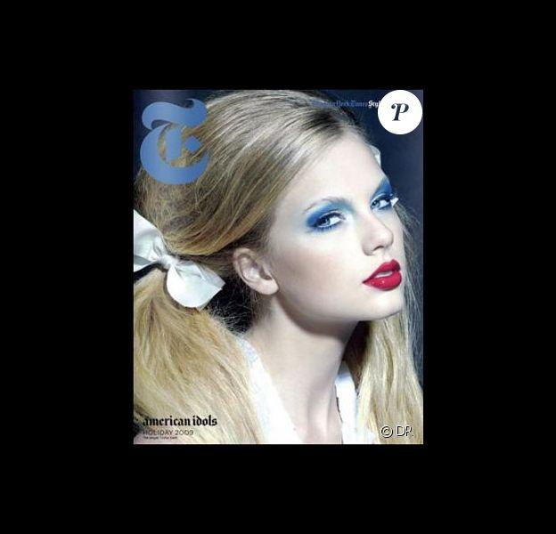 Taylor Swift en couverture du supplément ''Style'' du New York Times