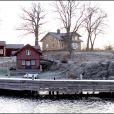Propriété achetée par Tiger Woods en novembre 2009, dans l'archipel de Stockholm, pour son épouse Elin.