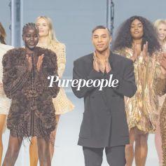 Naomi Campbell, Milla Jovovich, Neymar... pluie de stars au défilé Balmain !