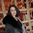 Nathalie Rykiel lors de la vente aux enchère des Sapins de créateurs qui se tient à la Cité de l'architecture le 8 décembre 2009 à Paris