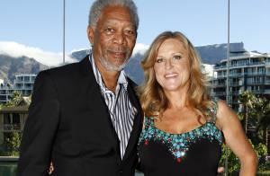 Morgan Freeman passe un bon moment et en bonne compagnie... à l'autre bout du monde !