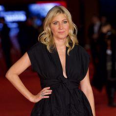 """Amanda Sthers - Première du film """"Les promesses"""" lors du 16ème Festival International du film de Rome le 17 octobre 2021."""