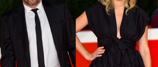 Patrick Bruel et Amanda Sthers : Les ex réunis sur tapis rouge, joli soutien à Rome