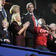 Wyclef Jean s'est mêlé à la famille royale de Norvège (à sa gauche, le prince héritier Haakon avec Mette-Marit et son fils de 11 asn, Marius Borg) pour faire le show !