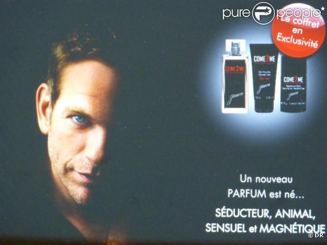 """Come to me"" le parfum de Garou"