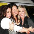 """Fran Drescher, Rosie O'Donnell et Olivia Newton John lors de la soirée pour la fondation """"Cancer Schmancer Movment"""" de Fran Drescher au Théâtre The Million Dollar à Los Angeles le 13 décembre 2009"""