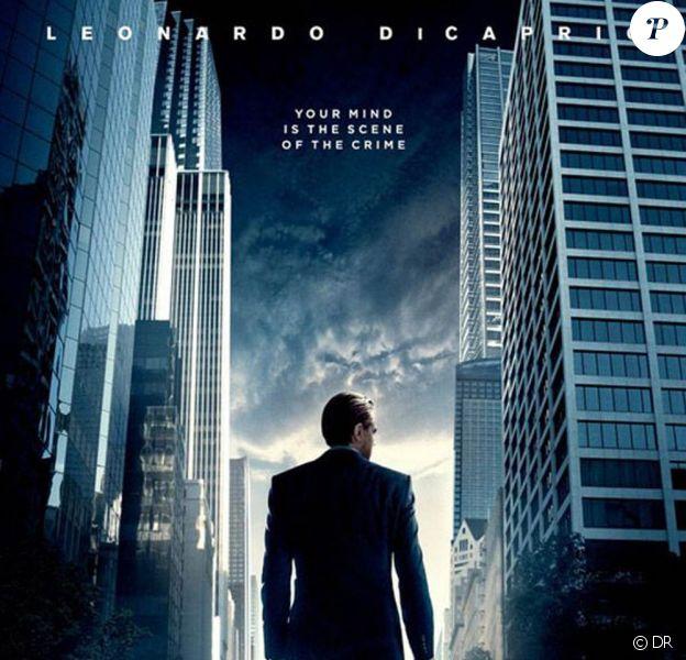 L'affiche d'Inception, de Christopher Nolan.