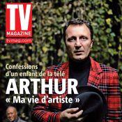 """Quand Arthur évoque son jeune fils Aaron : """"Avec lui, mes nuits sont plus courtes... mais ma vie plus belle"""""""