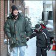 C'est en compagnie de son fils Christopher que Kurt Russell s'est offert un séjour à Aspen.