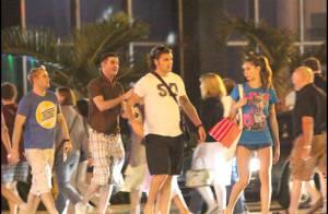 Le champion Christian Vieri et sa sublime épouse... Noël de rêve sous le soleil de Miami !