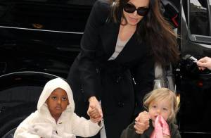 Brad Pitt et Angelina Jolie : Ils bravent le froid avec Shiloh et Zahara pour être réunis !