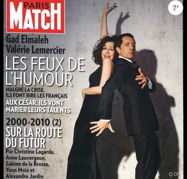Valérie Lemercier et Gad Elmaleh