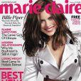Billie Piper en couverture du Marie-Claire UK