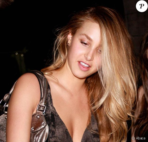 Whitney Port à West Hollywood, le 2 janvier 2009