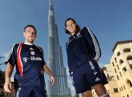 Regardez Franck Ribéry se la jouer Cendrillon à Dubaï... Quel beau moment !