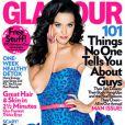 Katy Perry en couverture de  Glamour  pour le mois de février 2010