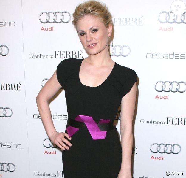 Anna Paquin lors de la soirée Audi Golden Globes le 10 janvier 2010 à Los Angeles