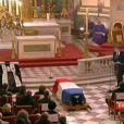 Obsèques de Philippe Séguin en l'église Saint-Louis-des-Invalides. 11 janvier 2010