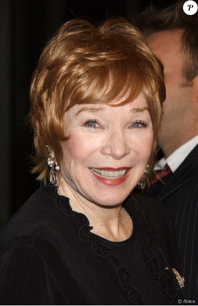 Shirley Maclaine...