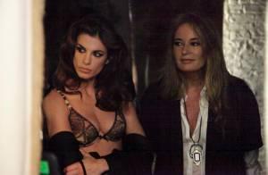 Regardez Elisabetta Canalis, Mme Clooney, devenir un sensuel mannequin lingerie pour Roberto Cavalli...