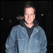 """Kiefer Sutherland : Découvrez le héros viril de """"24 heures chrono""""... en robe !"""