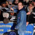 Kiefer Sutherland à l'émission de David Letterman (13 janvier 2010 - New York)