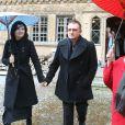 Bono, sa femme et la veuve de Balthus