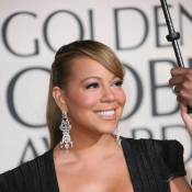 Mariah Carey : La diva... va exploser dans sa robe ! Mais quel décolleté...
