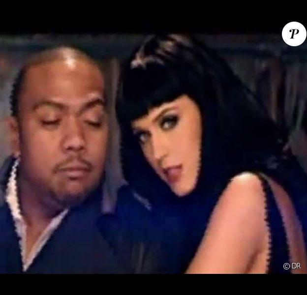 Katy Perry et Timbaland dans le clip de If We Ever Meet Again