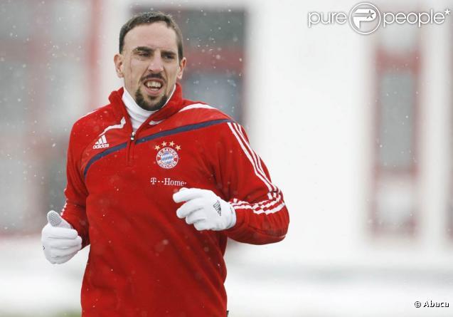 Franck Ribéry rencontrera les enquêteurs de la PJ... plus tard.