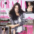Mylène Jampanoï en couverture de Grazia
