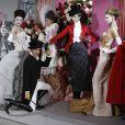 Défilé Printemps-Eté 2010 de John Galliano pour Christian Dior, le 25 janvier 2010 à Paris