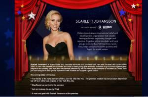 VIDEO : Scarlett Johansson se propose sur eBay...
