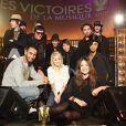 """Les artistes nommés dans les catégories """"révélation"""" des Victoires de la musique 2010, à paris, le 27 janvier 2010 !"""