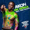 Akon et Keri Hilson signent l'hymne officiel de la Coupe du Monde de football 2010, et invitent les stars du foot mondial dans leur clip !