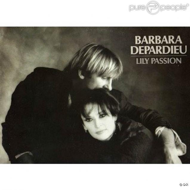 Gérard Depardieu et Barbara à l'époque de  Lily Passion , en 1986.