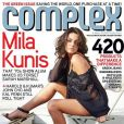 La sublime Mila Kunis, torride en couverture des magazines.