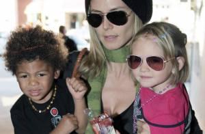 Photos : Heidi Klum : dur, dur d'être maman...
