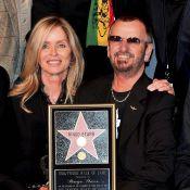 L'ex-Beatles Ringo Starr vient d'entrer au panthéon hollywoodien... sous le regard de Ben Harper !
