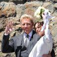 Boris et Lily Becker le jour de leur mariage le 12 juin 2009