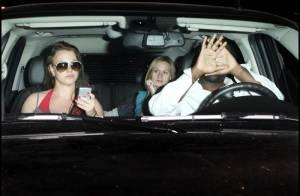 Photos : Britney Spears plus habituée aux flashs que son garde du corps...
