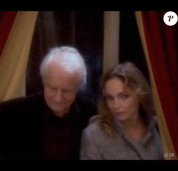 André Dussollier et Claire Keim, premiers arrivés au Grand Restaurant de Pierre Palmade