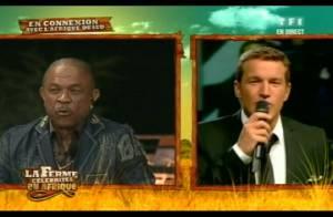 La Ferme Célébrités en Afrique : regardez Francky Vincent destitué... et Mickaël Vendetta sauvé de justesse !