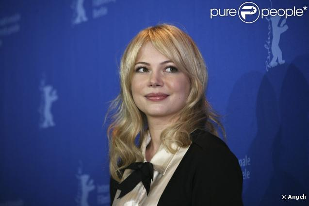 Michelle Williams lors du photocall de Shutter Island, le 13 février 2010, à la 60e Berlinale.